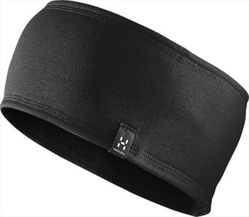 Haglofs Fanatic Sweatband Thermal Headband, S/M True Black Solid