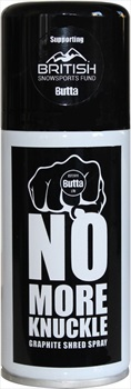Butta No More Knuckle Shred Spray Ski/Snowboard Base Lube 150ml