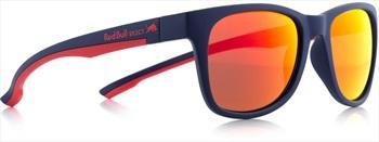 Red Bull Spect Indy Brown Polarised Sunglasses, Matte Dark Blue