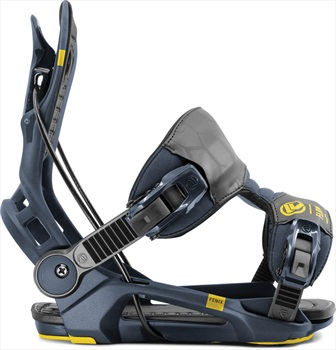 Flow Fenix Fusion Step In Snowboard Bindings, L Midnight 2020