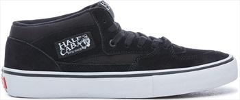 Vans Adult Unisex Half Cab Pro Skate Shoes, UK 8 Black/Black/White