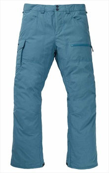 Burton Covert Insulated Snowboard/Ski Pants, XS Storm Blue