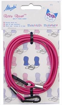 Manbi Stretch Retainer Glove Glue Kids Childrens Mitten String Pink