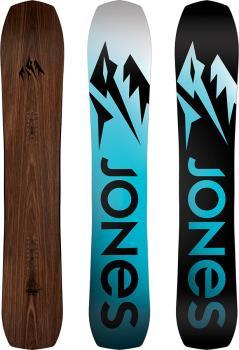 Jones Flagship Hybrid Camber Snowboard, 162cm Wide 2021