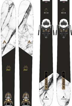 Dynastar M-Free 108 Pivot 15 GW Skis, 182cm Black/Yellow 2021