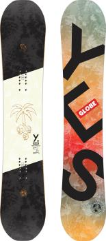 Yes. Globe Traditionalist Hybrid Camber Snowboard, 158cm 2021