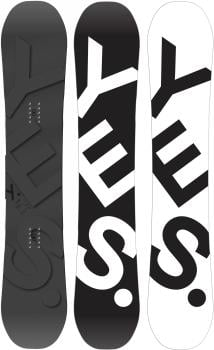 Yes. The Basic Hybrid Camber Snowboard, 152cm 2021