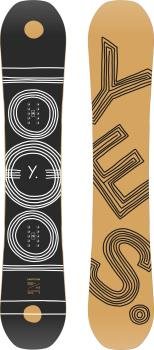 Yes. Emoticon Womens Hybrid Camber Snowboard, 152cm 2021