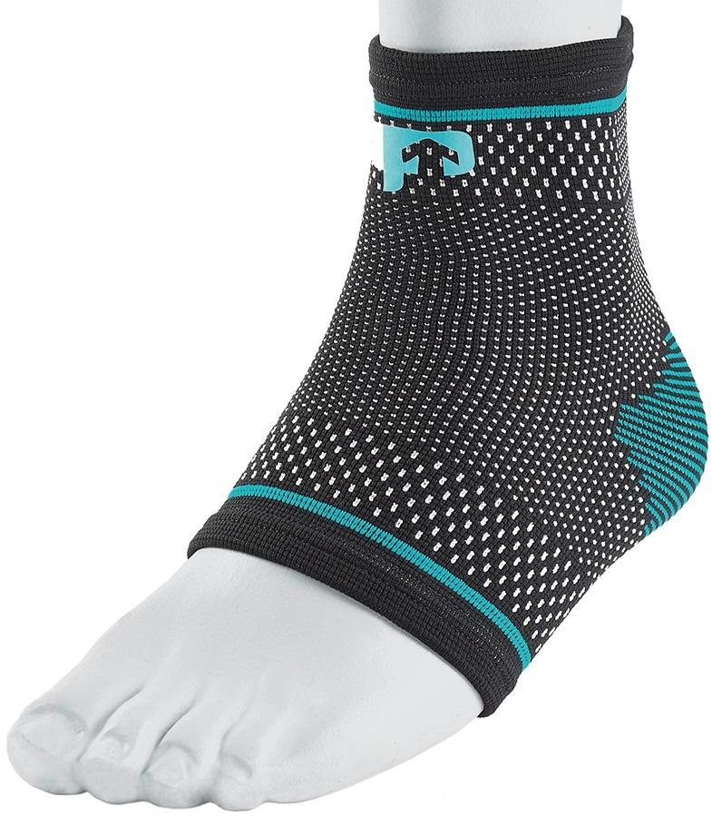 Ultimate Performance Compression Elastic Ankle Support, L Black/Blue