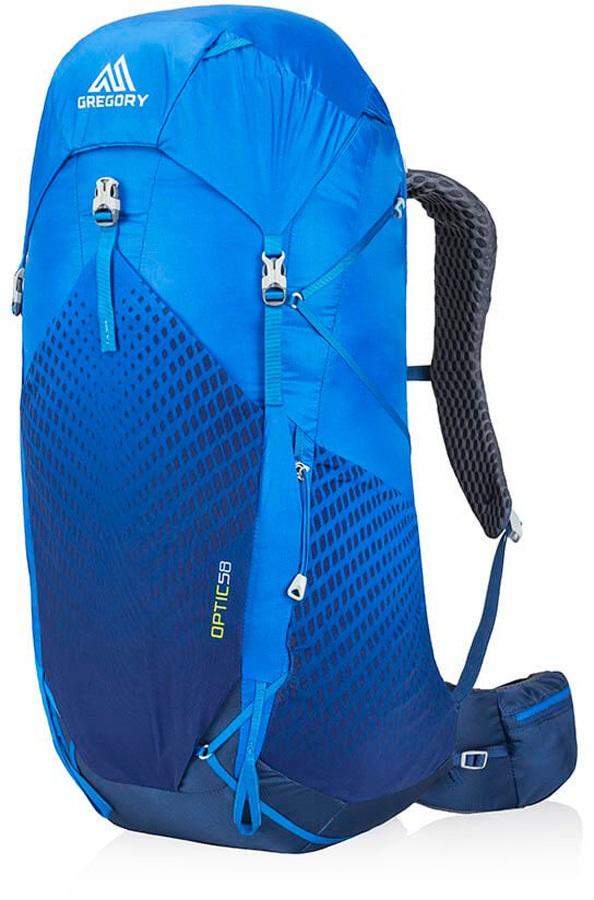 Gregory Optic 58L Medium Ultralight Trekking Backpack, Beacon Blue