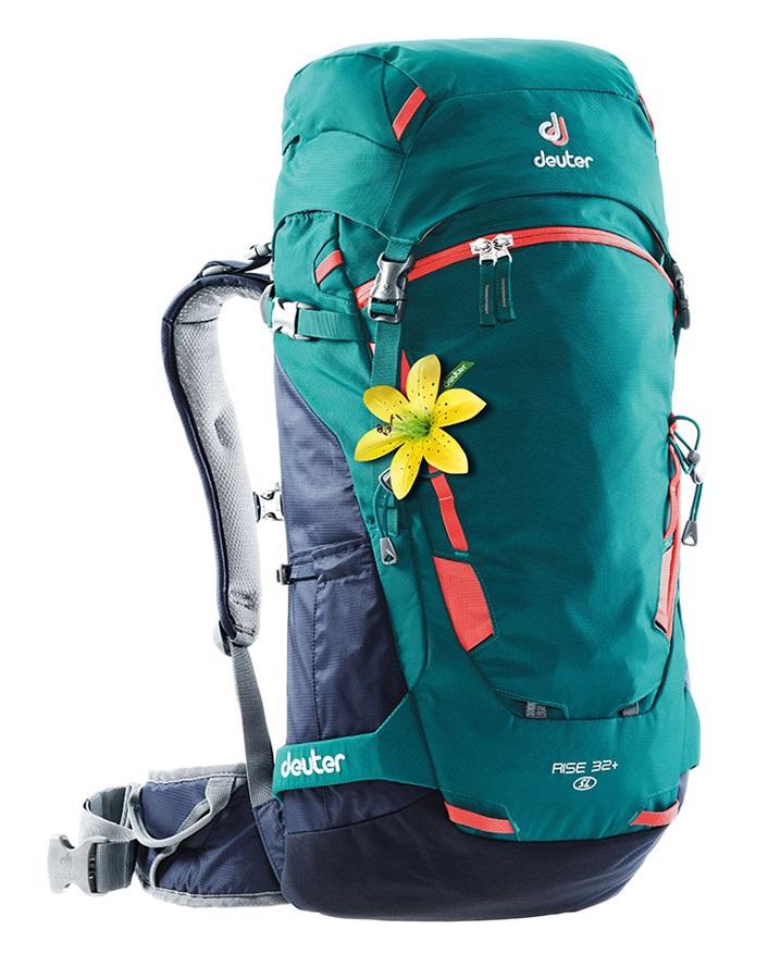 Deuter Rise 32+ SL Women's Hiking Backpack, 32L Petrol Navy