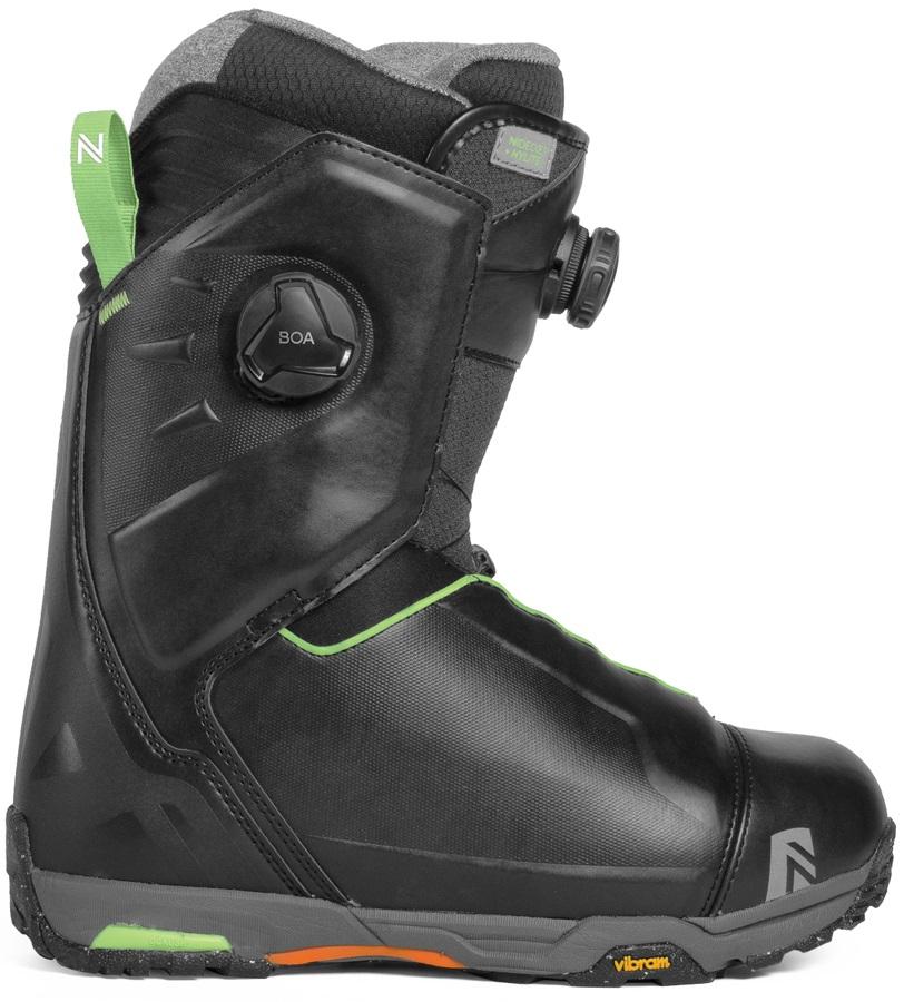 Nidecker HyLite Focus Boa Snowboard Boots, UK 12 Black 2019