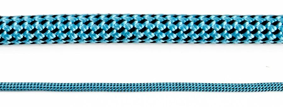 Black Diamond 8.5 Dry Rock Climbing Rope - 70m, Ultra Blue