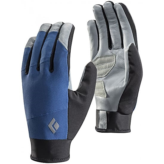 Black Diamond Adult Unisex Trekker Hiking Gloves, XL Denim