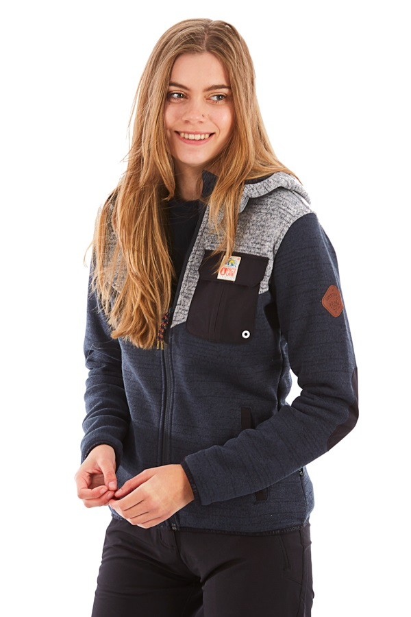 Picture Womens Moder Jacket Polartec Fleece Midlayer, M Black