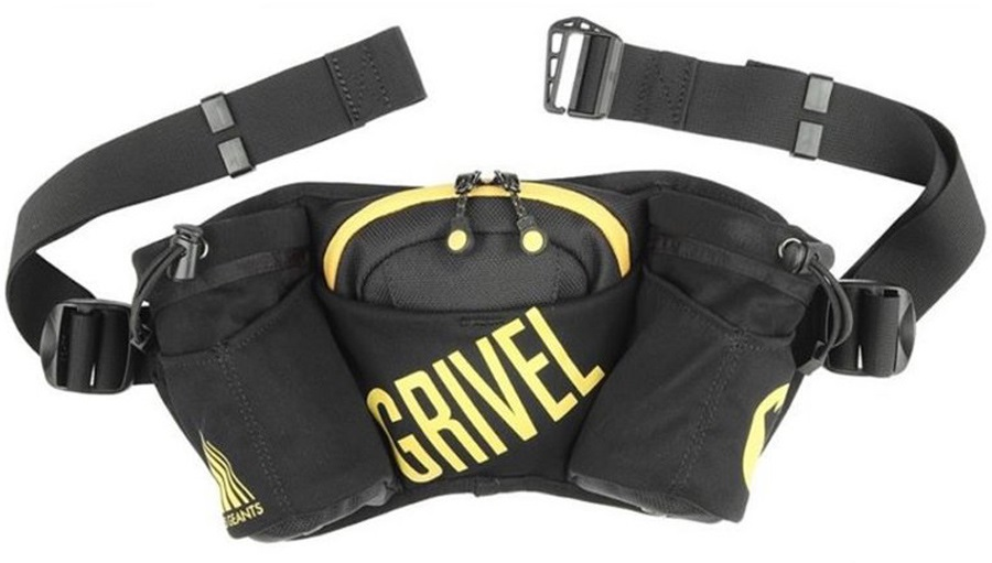 Grivel Double Barrel Waist Pack Running Hip Pack & Bottle Holder