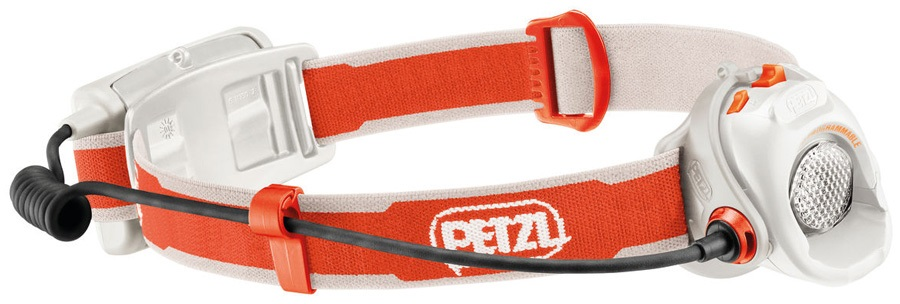 Petzl MYO Headlamp Headtorch, 370 Lumens Orange/White