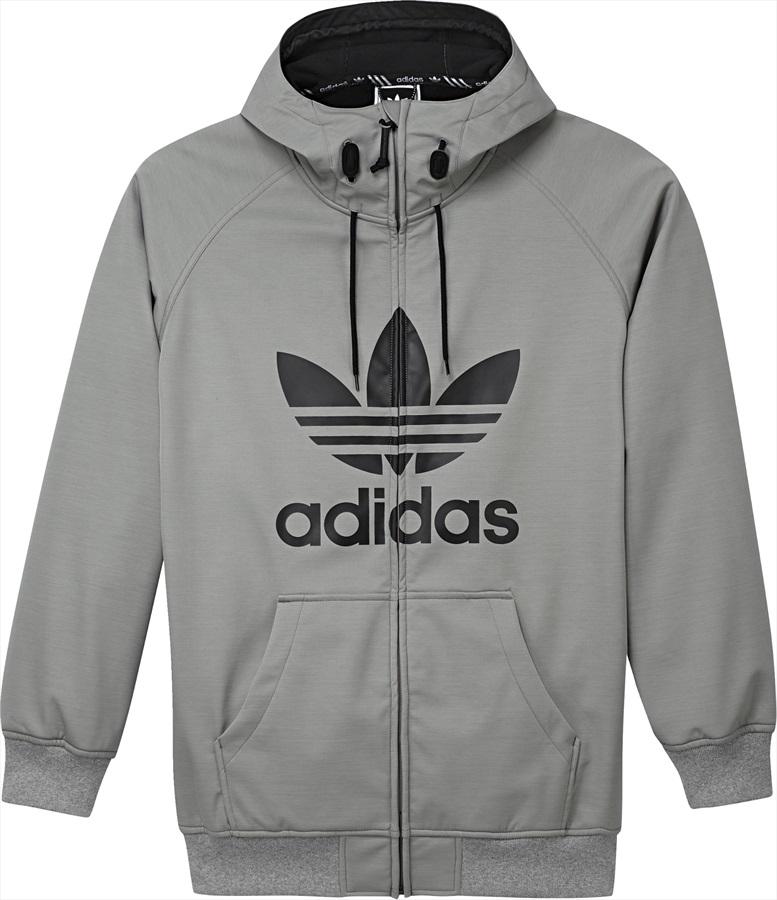 Adidas Greeley Softshell SkiSnowboard Jacket, S Core HeatherBlack