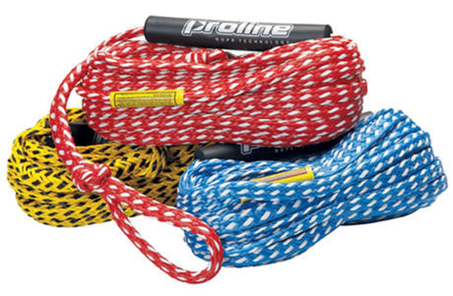 """Proline Deluxe 3/8"""" Tube Rope, 2 Person Red 2019"""