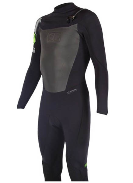 JetPilot A-Tron 2/2mm Full Wetsuit L Black Green