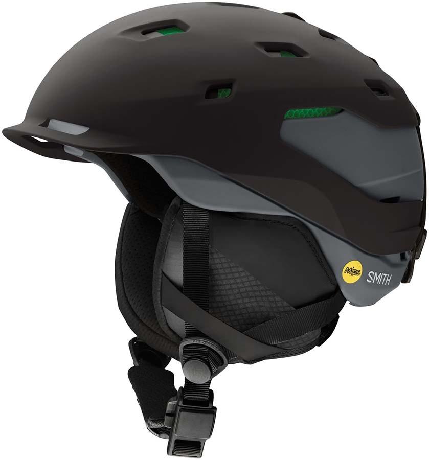 Smith Quantum MIPS Ski/Snowboard Helmet, S Matte Black