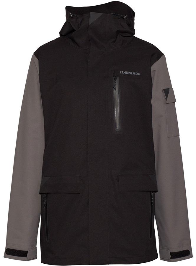 Armada Spearhead Stretch Ski/Snowboard Jacket, S Black
