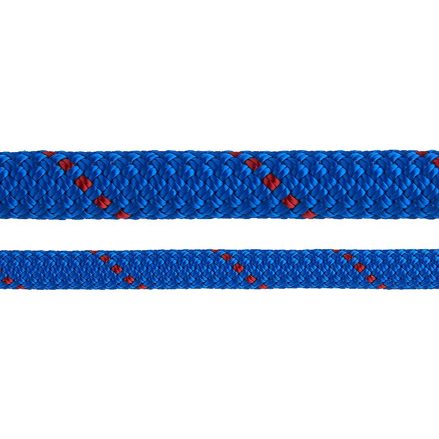 Edelweiss Rocklight II Rock Climbing Rope, 9.8mm X 50m Blue/Red