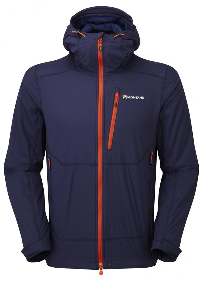 Montane Alpine Equaliser Fleece Softshell Hooded Jacket, S Antarctic