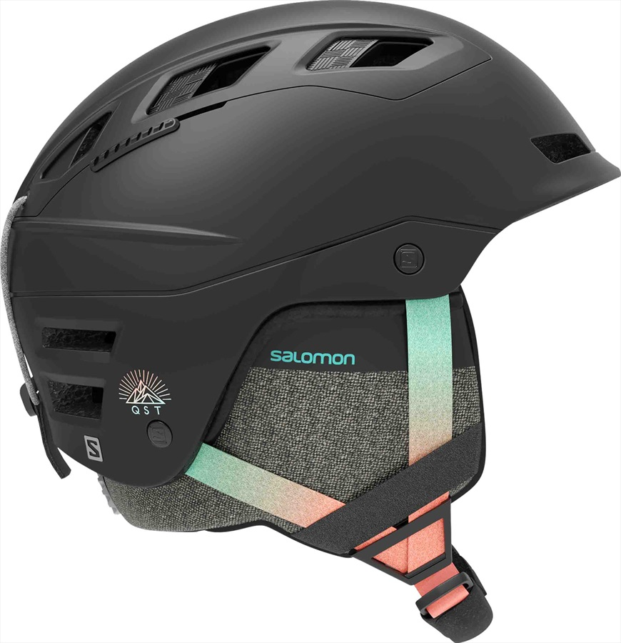 Salomon QST Charge W Women's Ski/Snowboard Helmet, S Black Gradient