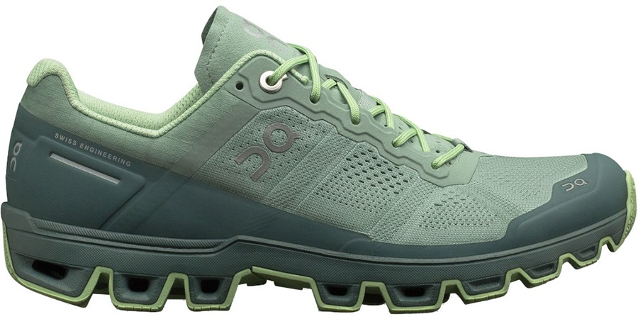 On Cloudventure Women's Running Shoes, UK 5 Moss/Olive