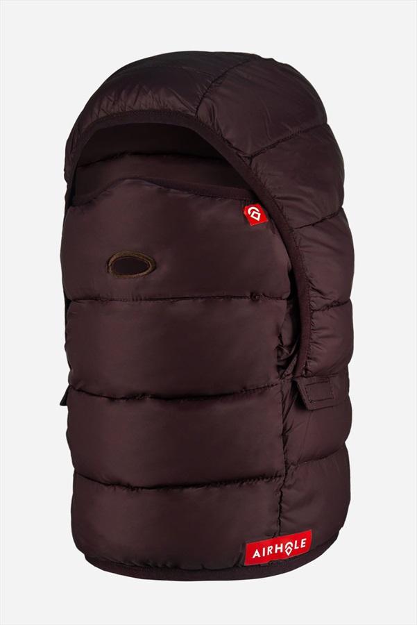 Airhole Airhood Packable Insulated Ski/Snowboard Hood S/M Burgundy