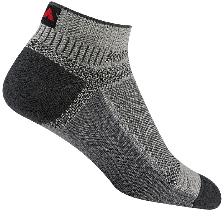 Wigwam Ultra Cool-Lite Low Walking/Hiking Socks, L Grey