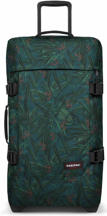 Eastpak Tranverz M Wheeled Bag/Suitcase, 78L Brize Mel Dark
