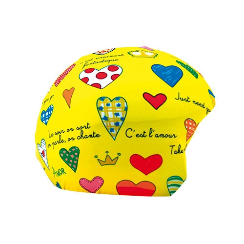 Coolcasc Printed Cool Ski/Snowboard Helmet Cover, Amour