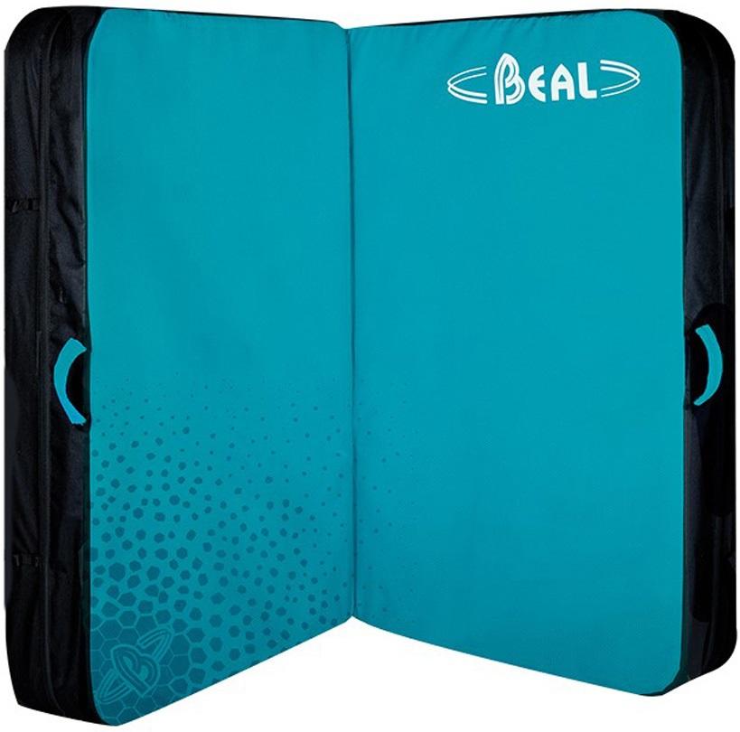 Beal Double Air Bag Bouldering Crash Pad, 130 X 100 X 10cm Turquoise