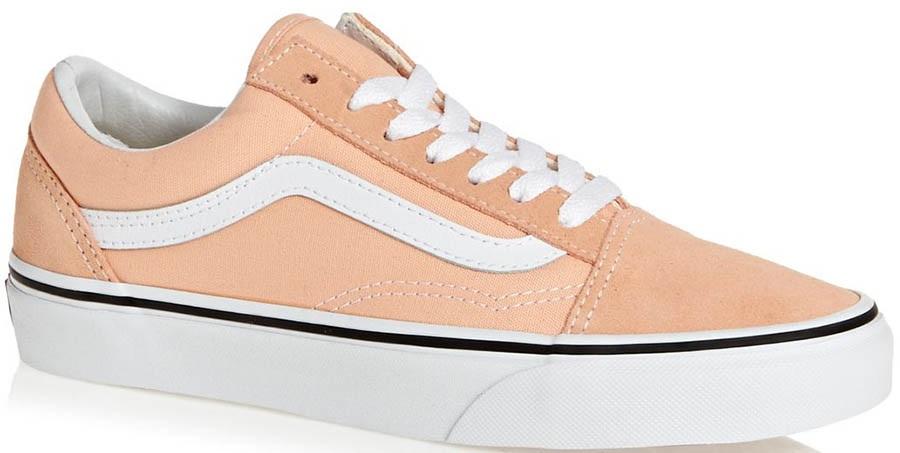 25cbb3d3 Vans Old Skool Women's Skate Shoes, UK 7 Bleached Apricot/White