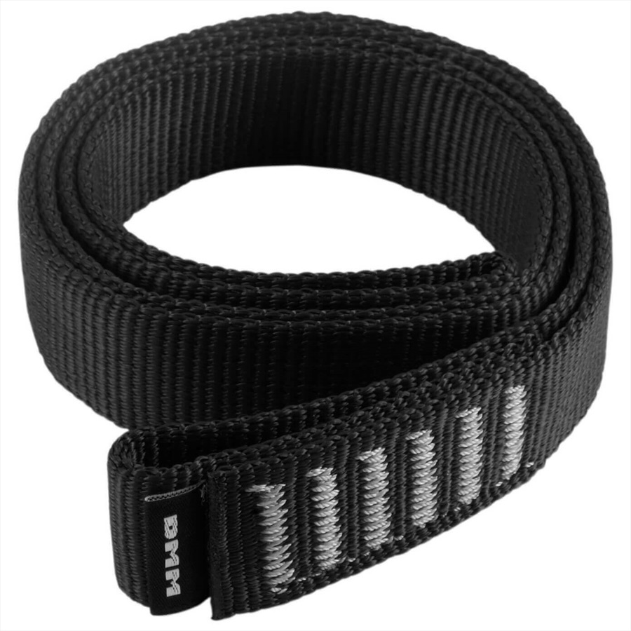 DMM Nylon Sling Rock Climbing Sling, 60cm X 26mm Black