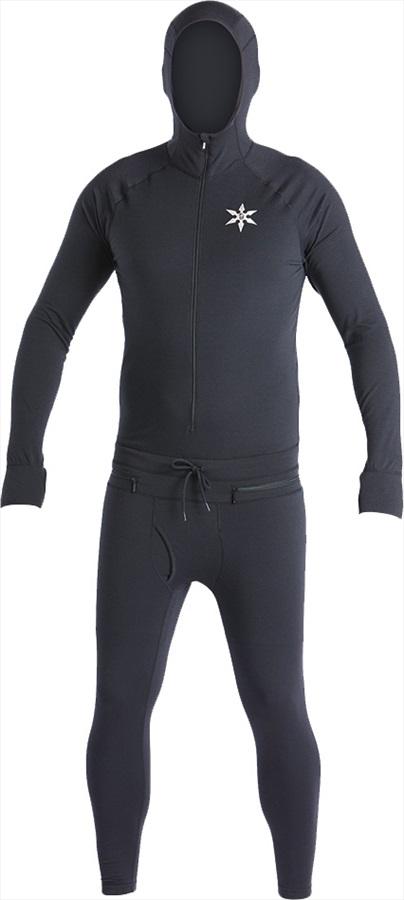 Airblaster Classic Ninja Suit Thermal Base Layer, S Black