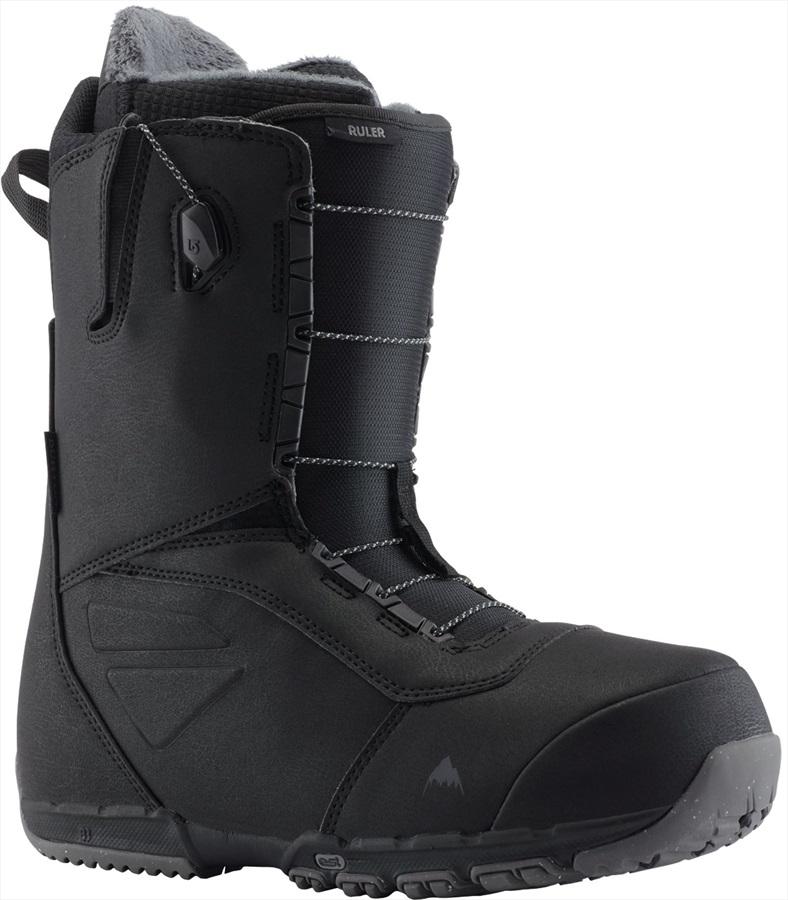 Burton Ruler Wide Men's Snowboard Boots, UK 10.5 Black 2020