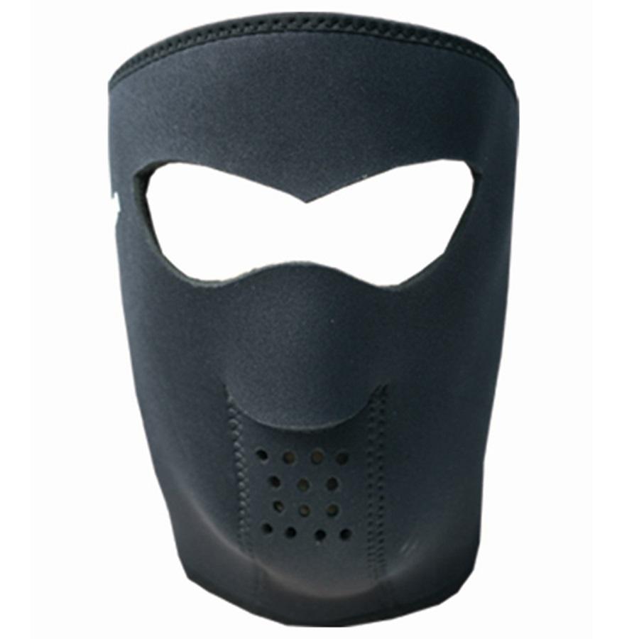 Demon Neoprene Head Guard DS5107 Ski/Snowboard Face Mask XL Black