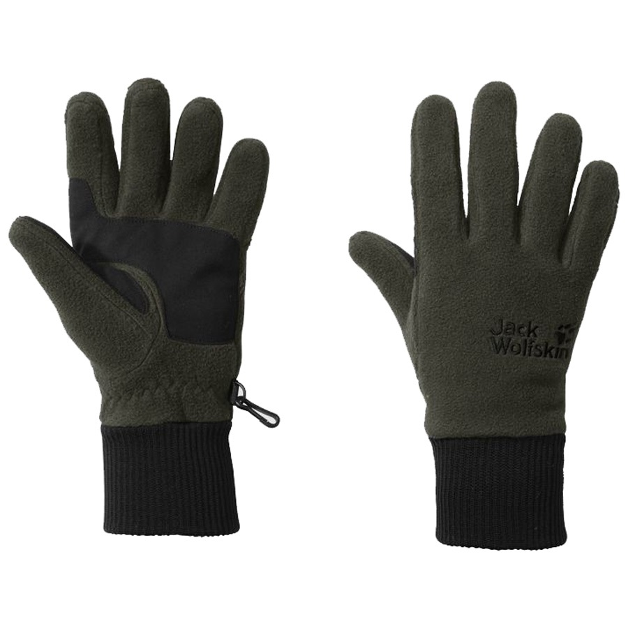 Jack Wolfskin Adult Unisex Vertigo Gloves: XL, Malachite