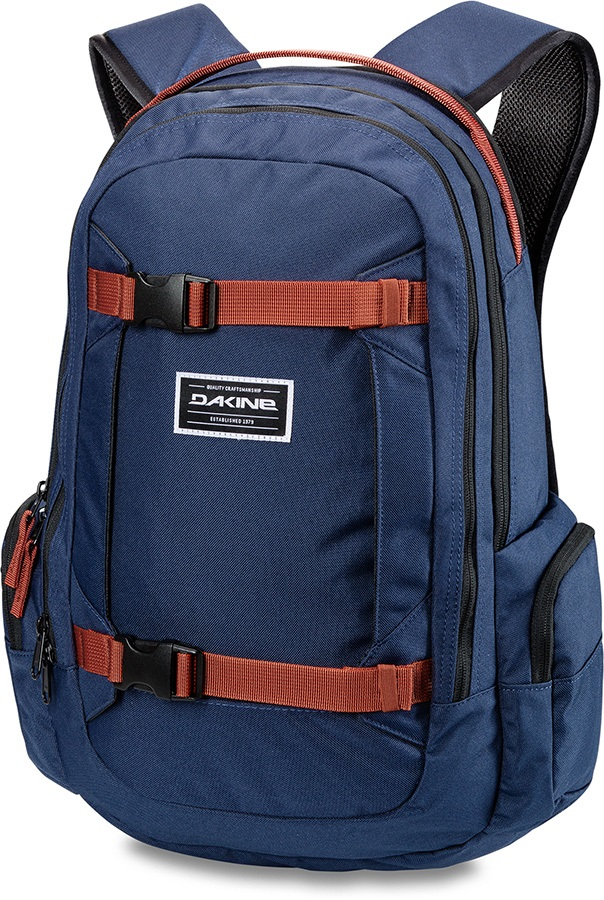 Dakine Mission Snowboard/Ski Backpack, 25L Dark Navy