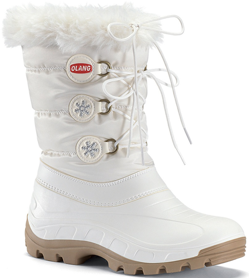Olang Patty Winter Snow Boots UK Child 12.5/13.5 White