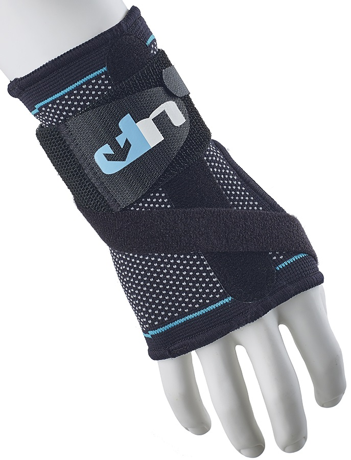 Ultimate Performance Advanced Wrist Support With Splint, L Black