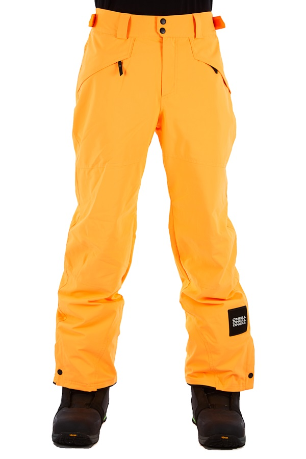 O'Neill Hammer Snowboard/Ski Pants, M Citrine Orange