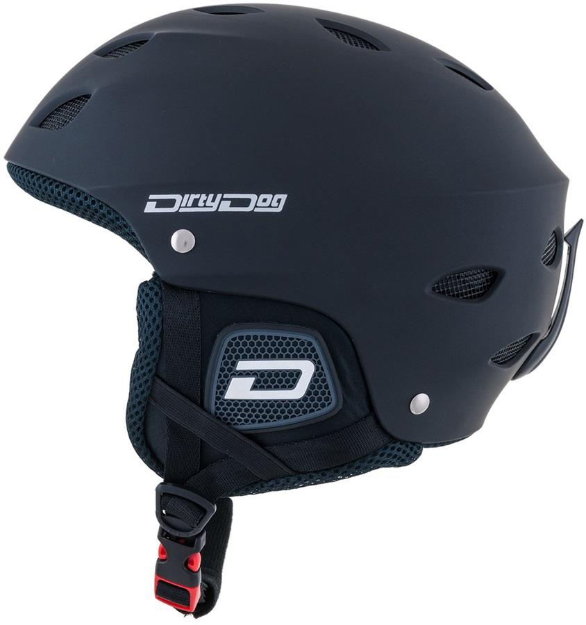 Dirty Dog Orbit Snowboard/Ski Helmet, XL Matte Black