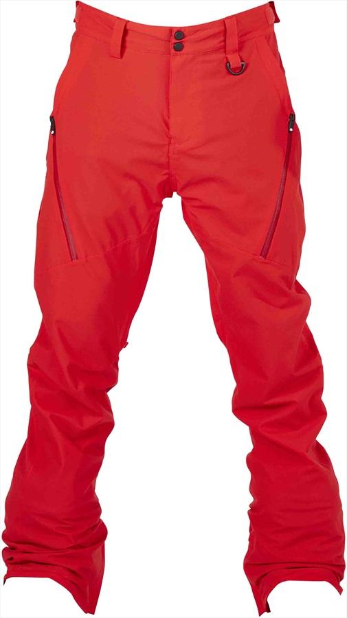 Bonfire Surface Ski/Snowboard Pants, M Red