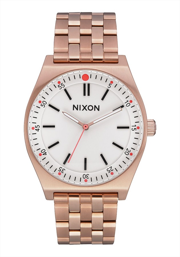 Nixon Crew Women's Watch, All Rose Gold/Cream