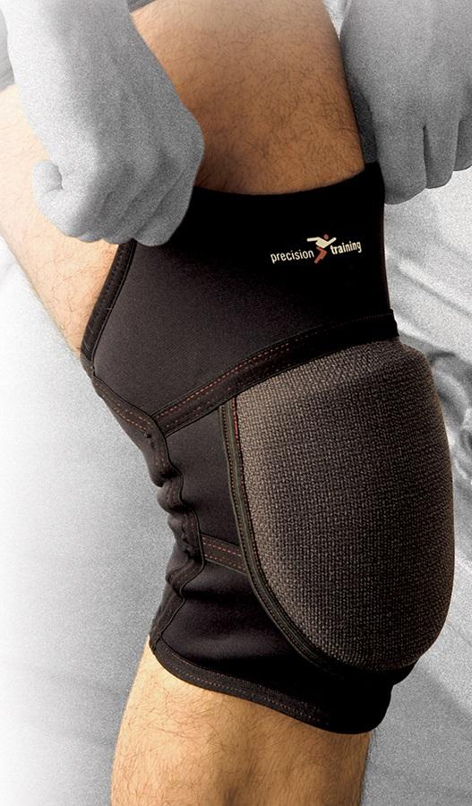 Precision Neoprene Padded Knee Support M Black