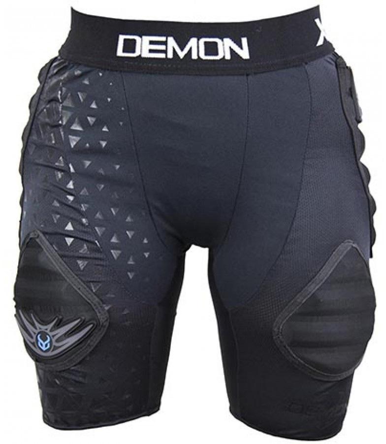 Demon Flex Force XD3O V3 Women's Ski/Snowboard Impact Shorts, S Black